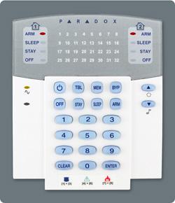 Paradox MG5000 Alarm System
