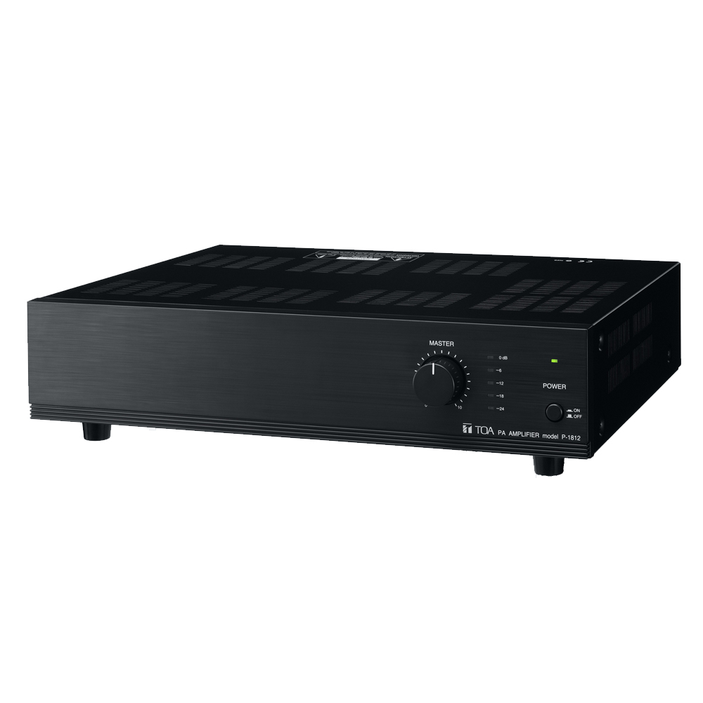 toa p 1812 mixer power amplifier aa2000. Black Bedroom Furniture Sets. Home Design Ideas